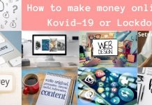 How to make money online in Kovid-19 or Lockdown