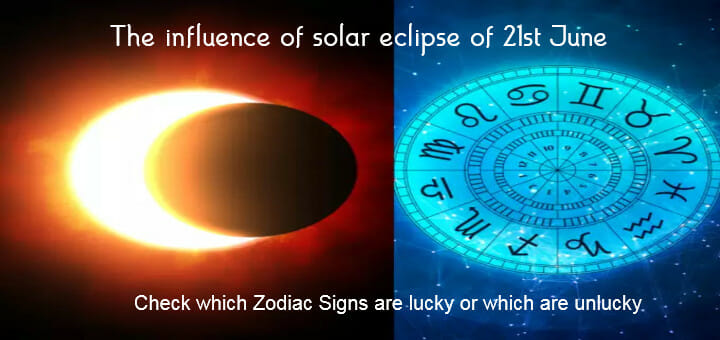 The influence of solar eclipse