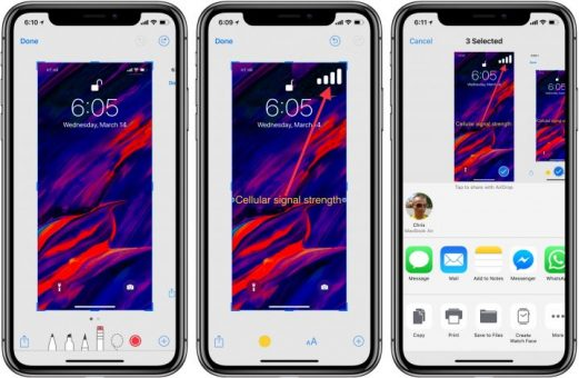 How to Take a Screenshot on iPhone X, XS and XR