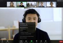 Zoom Video Call Zoom provided two-tier additional security feature