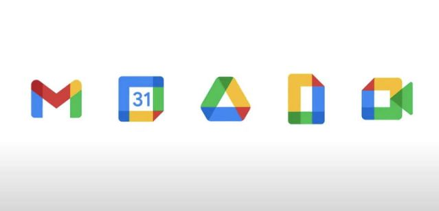 Gmail and Drive logos