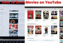 How to Rent Movies on YouTube