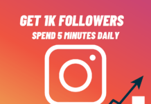 Get 1k Followers on Instagram in 5 Minutes