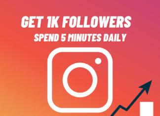 Get 1k Followers on Instagram in 5 Minutes