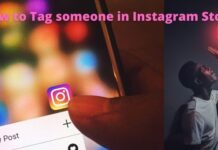 How to tag someone in Instagram story