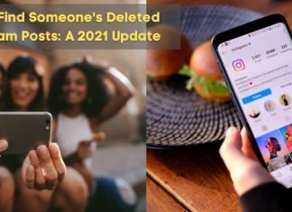 How to find someone's deleted Instagram posts