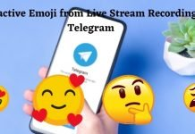 Interactive Emoji from Live Stream Recording - Telegram with a bunch of new features, everyone will need it
