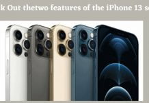 Nothing new this time except these two features of the iPhone 13 series