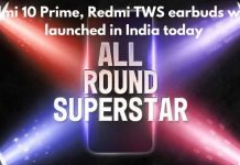 Redmi 10 Prime, Redmi TWS earbuds will be launched in India today, know the features