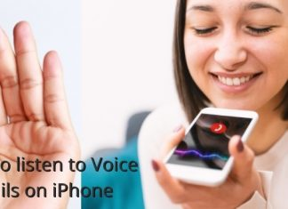 How to listen to Voice mails on iPhone